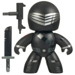 G.I. Joe Mighty Muggs Wave 1 - Snake-Eyes - loose