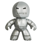 Marvel Mighty Muggs Wave 5 - Iron Man (Silver) - loose