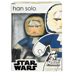 Star Wars Mighty Muggs Wave 6 - Han Solo (Hoth) - box